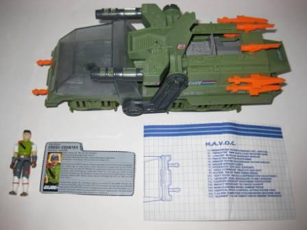 H.A.V.O.C. (1983) w/ Inst, Driver, Card - G.I. Joe